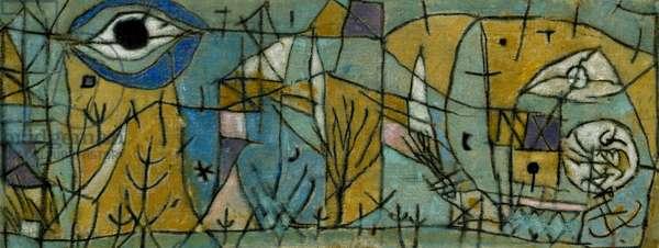 Turbato Paul Klee (1879-1940 Swiss) Pinacoteca Sabauda, Torino, Italy