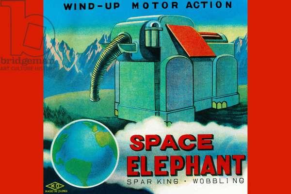 Space Elephant, Robots, ray guns & rocket ships