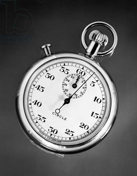 Close-up of a stopwatch