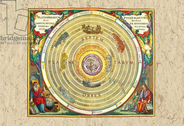 Ptolemaic Understanding of the Universe, Celestial & Astrological Charts