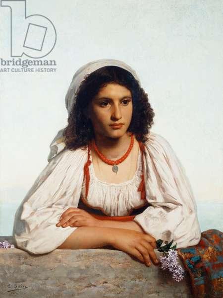 Kiarella 1865 Edouard Alexandre Sain (1830-1910 French)
