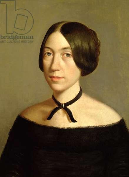 Portrait of Madame Victor Mottez, c.1840 (oil on canvas)
