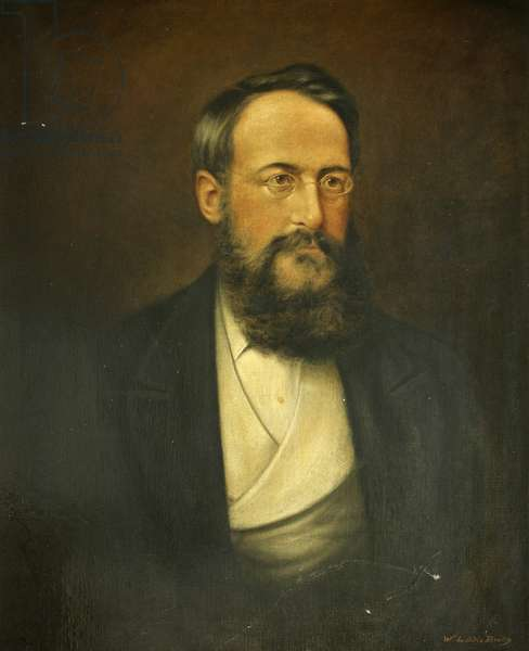 William Blackmore, Founder of the Blackmore Museum (oil on canvas)