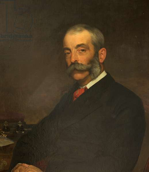 William David Wilkes, Benefactor of Salisbury Museum, 1902 (oil on canvas)