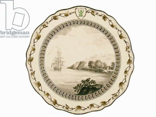 The 'Frog' Plate, 1774 (ceramic)