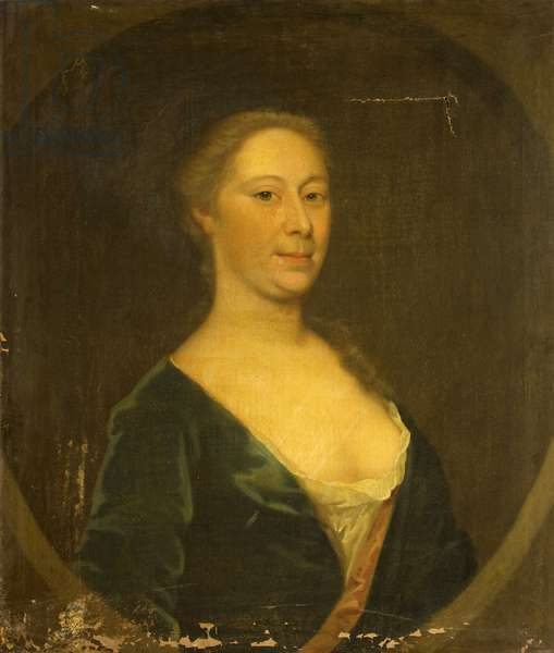 Rachel Bennett, Wife of Reverend Richard W. Blackmore, c.1730 (oil on canvas)