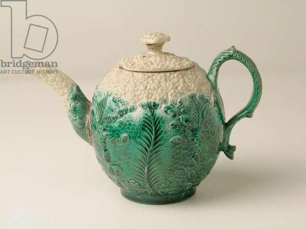 Cauliflower Teapot, c.1760 (ceramic)