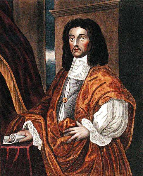 Sir Joseph Williamson (1633-1701), after a painting in the Bodleian Gallery