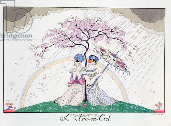 The Rainbow, engraved by Henri Reidel, 1920 (litho)