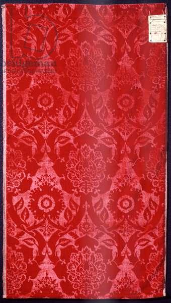 Utecht Velvet, Morris, William (1834-96), 1871