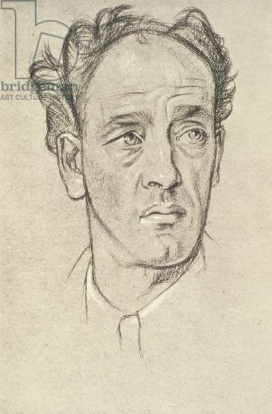 Portrait of James Stephens (1882-1950) (litho)