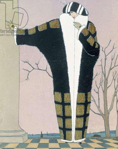 Gilles, heavy coat for the winter, from 'Gazette du Bon Ton' No.1, 1922