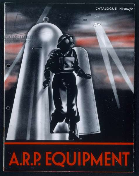 A.R.P. Equipment (colour litho)