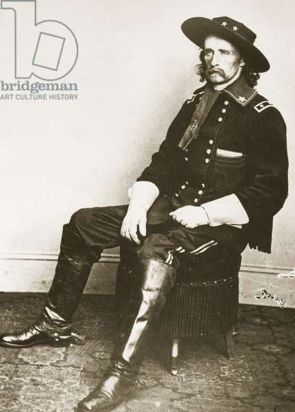 George Armstrong Custer (photogravure)