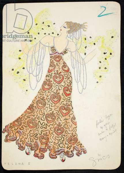 Helena II, 1928 (w/c on paper)