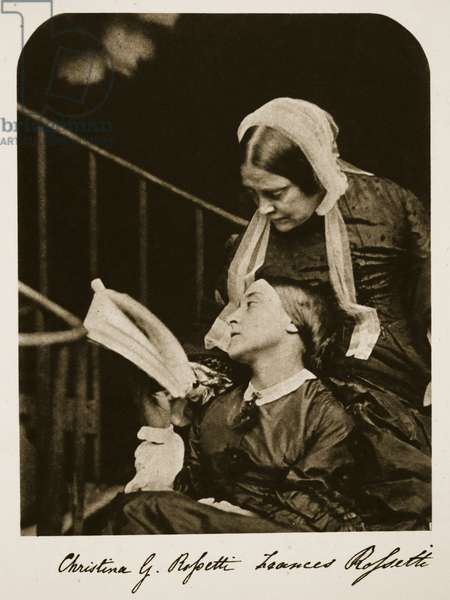 Christina Rossetti and her Mother Frances Rossetti, 7th October 1863