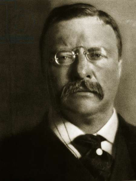 Theodore Roosevelt (sepia photo)