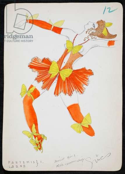 Partemis/Laene I, 1928 (w/c on paper)