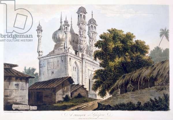 A Mosque at Gazipoor, 1787 (aquatint) (see also 179847)