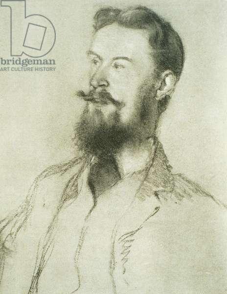Portrait of George Bernard Shaw (1856-1950) (litho)