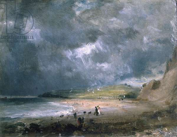 Weymouth Bay, 1816 (oil on canvas)