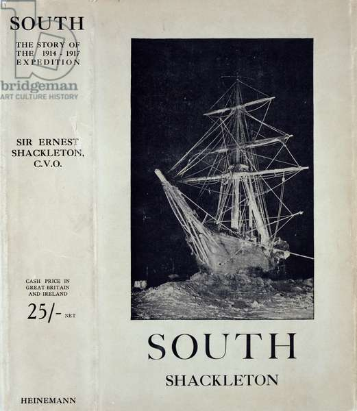 Front cover of 'South: The Story of Shackleton's Last Expedition, 1914-17' by Sir Ernest Shackleton (1885-1962) (litho)