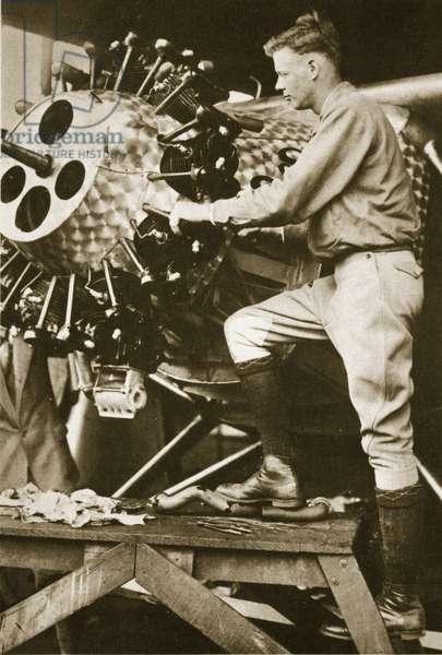 The Hero of the Decade, 1927 (sepia photo)