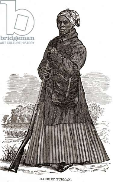 Harriet Tubman (1820 - 1913), pub. 1869 (engraving)