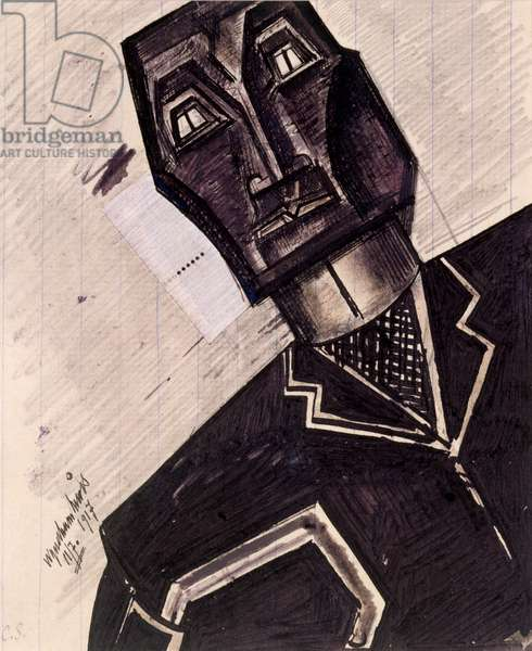 The Psychologist, 1917 (w/c and ink on paper)