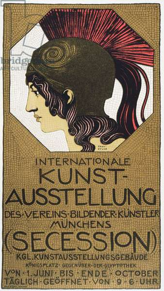 Poster for an Exhibition of Secessionist Art, 1893 (litho)