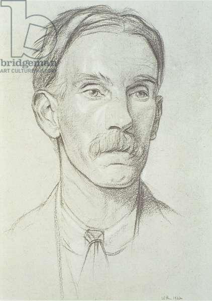 Portrait of Edward Johnston (1872-1944), 1922 (litho)