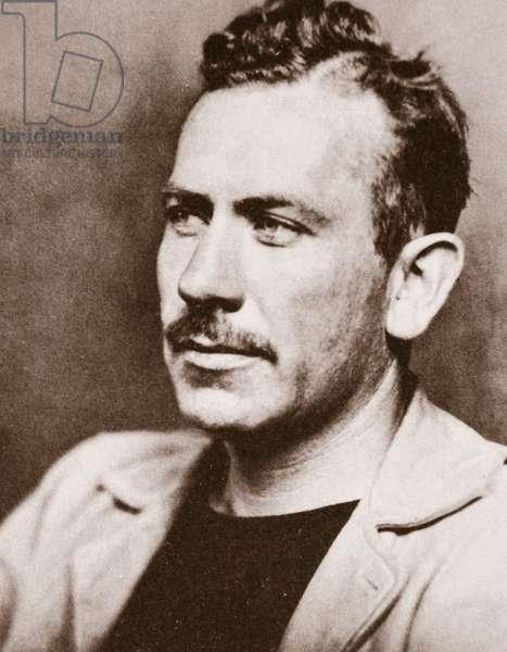 John Steinbeck, c.1939 (sepia photo)