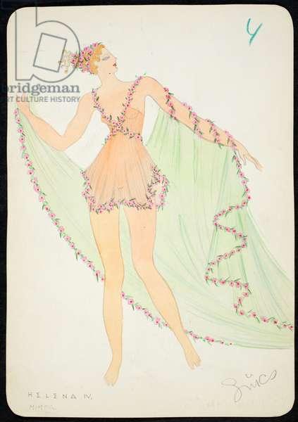 Helena IV, 1928 (w/c on paper)
