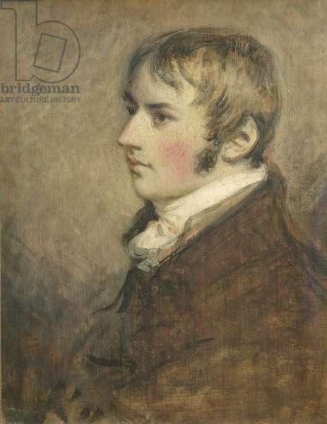Portrait of John Constable (1776-1837) aged twenty, 1796 (tempera)