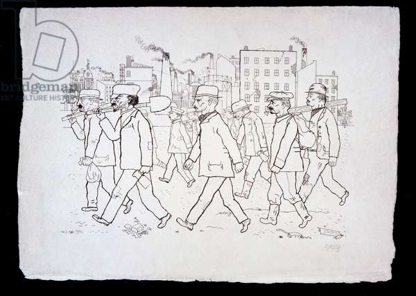 Ants, from 'In the Shadows' portfolio, published 1921 (photolitho)