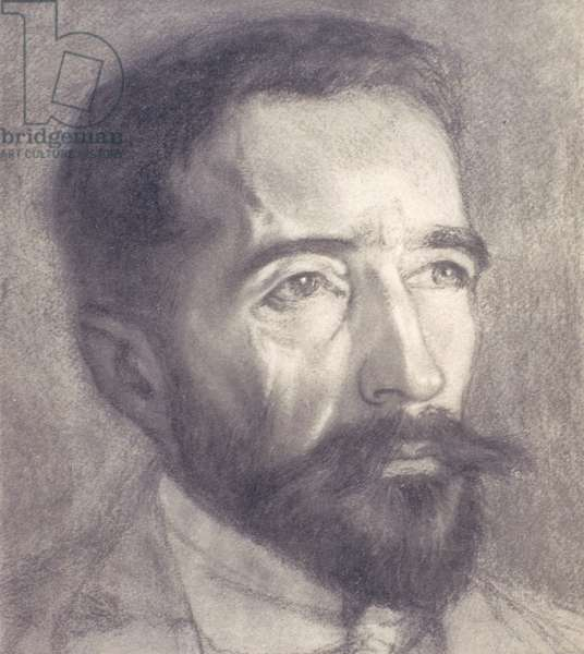 Portrait of Joseph Conrad (1857-1924) (litho)