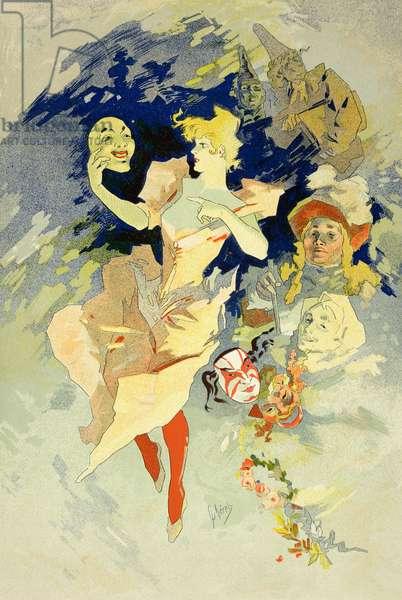 Reproduction of 'La Danse', 1891 (litho)