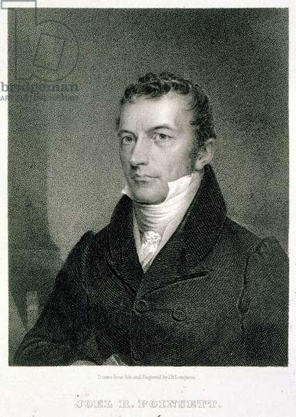 Joel Roberts Poinsett (engraving)