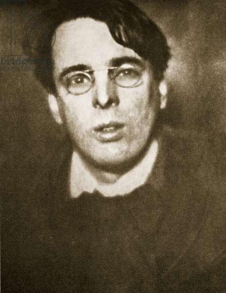 W.B. Yeats (photogravure)