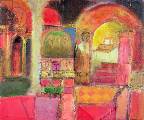 Interior: Rome, 2005-07 (oil on canvas)
