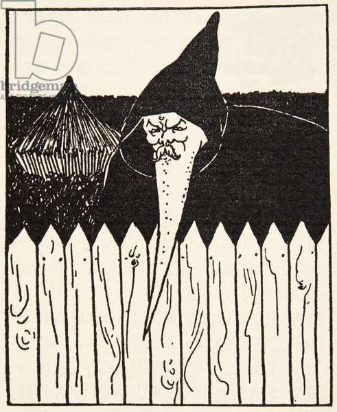 Chapter Heading,  Illustration from 'Le Morte d'Arthur' by Thomas Malory, pub.1894 (engraving)