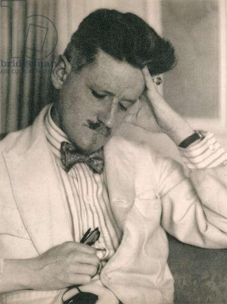 James Joyce, 1926 (b/w photo)