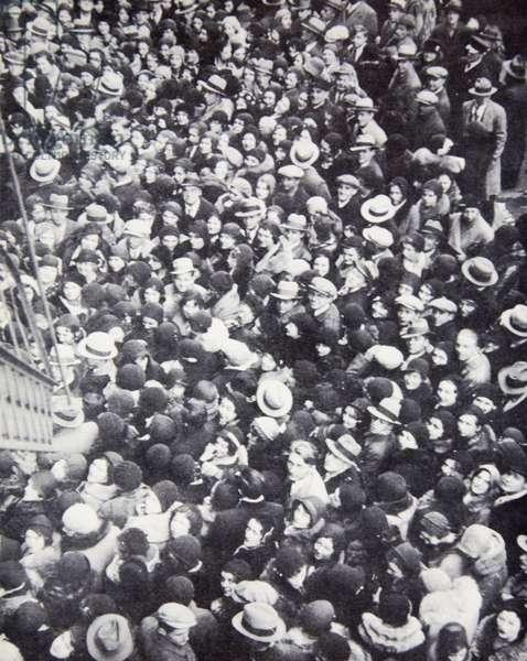 Euclid Avenue, Cleveland, 1931 (b/w photo)