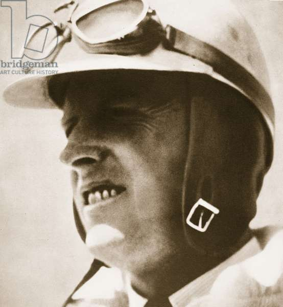Sir Henry Segrave, 1930 (b/w photo)