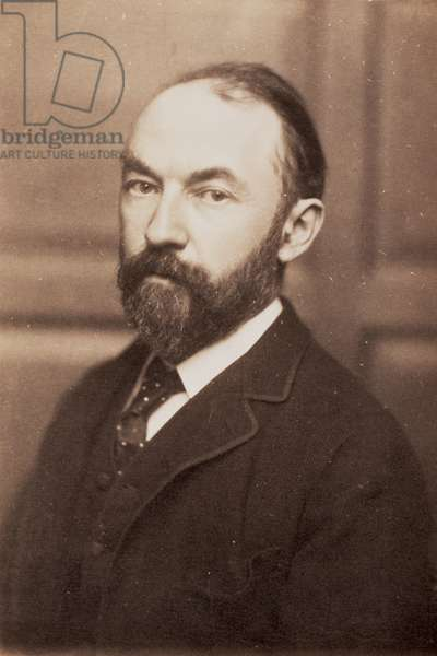 Thomas Hardy (1840-1928) (sepia photo)