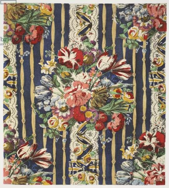 Flowers after van Huysum, pub. 1933 (colour litho)