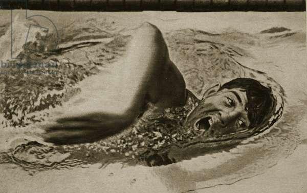 Jack Medica, 1936 (b/w photo)