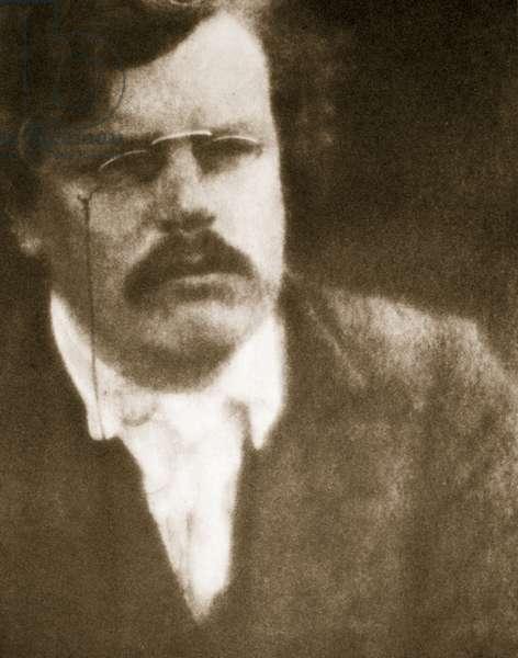 G.K. Chesterton (photogravure)