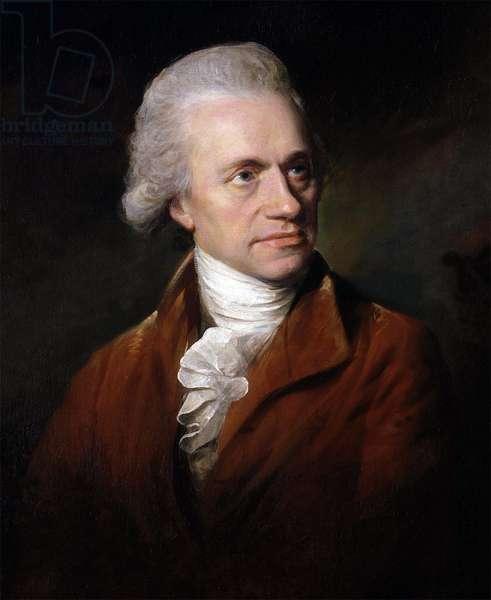 Portrait of Sir Frederick William Herschel (1738- 1822), 1785 (oil on canvas)