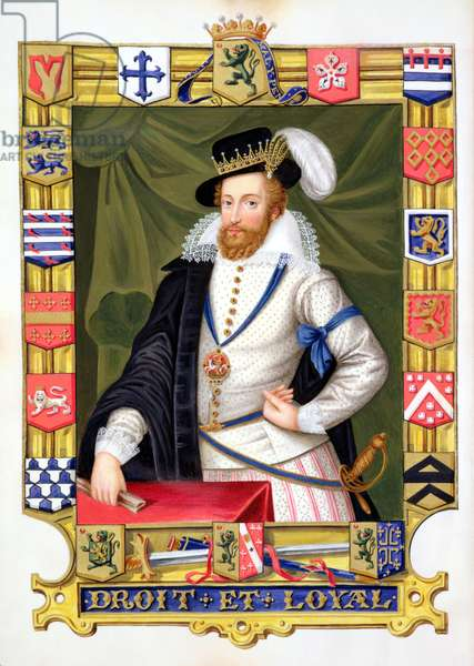 Portrait of Robert Dudley (c.1532-88) Earl of Leicester, from 'Memoirs of the Court of Queen Elizabeth', published in 1825 (w/c and gouache on paper)